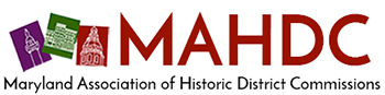 Maryland Association of Historic District Commissions Retina Logo