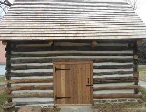Gaithersburg HDC recognizes smokehouse restoration with historic preservation award