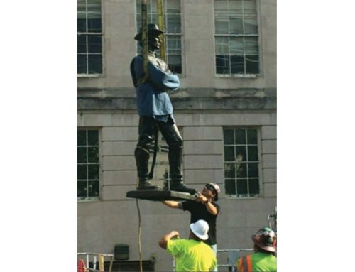 Confederate statue removed from City of Rockville property