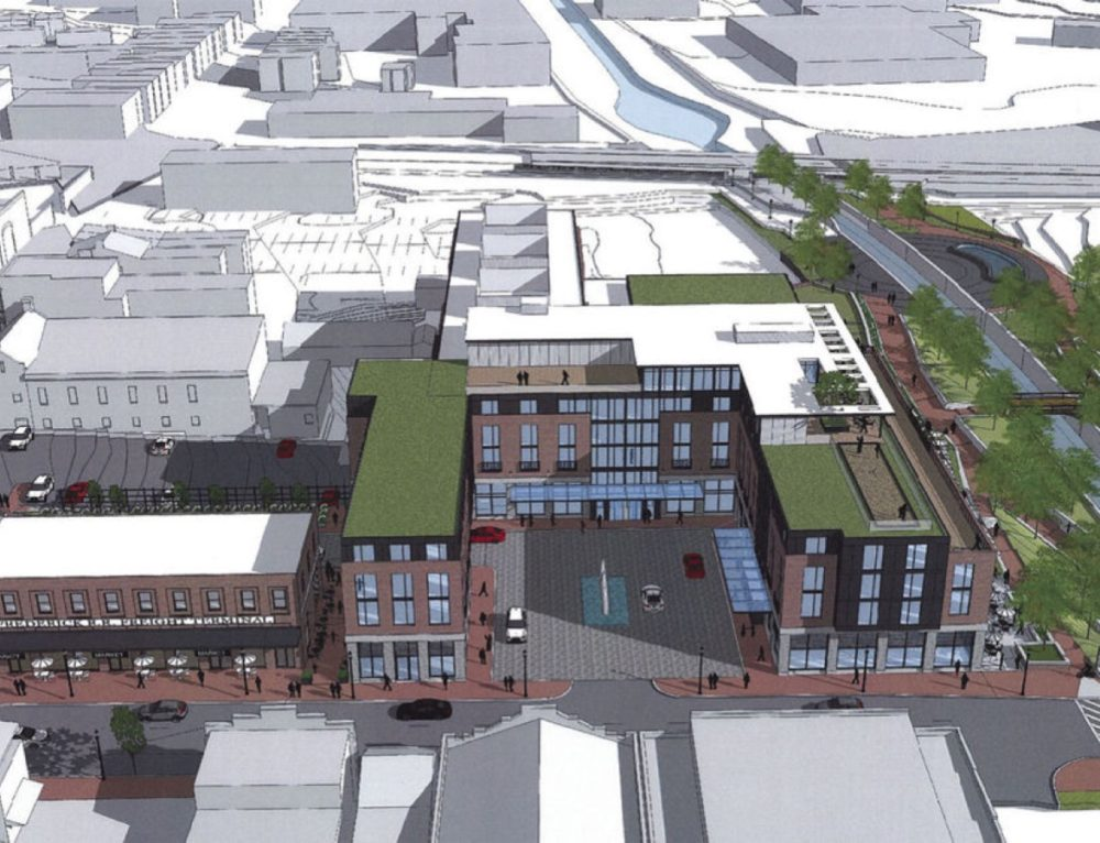 City of Frederick HPC approves first design details for downtown hotel project