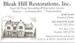 Bleak Hill Restorations, Inc.