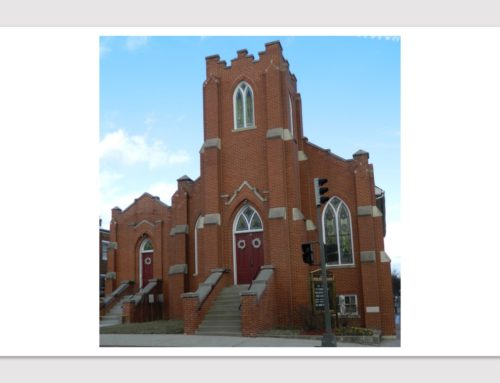 "City of Frederick ""Preservation Matters"": Churches linked by architecture, and service to black community"